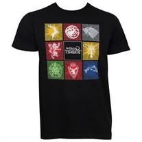 Game Of Thrones Men's Squares Tee Shirt