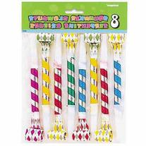 Squawker Party Blowers, 8-Count