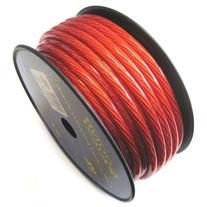 Soundquest SQVLP4R CCA Power Wire, Vinyl Matte Red