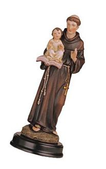 George S. Chen Imports SS-G-205.09 Saint Anthony Holy