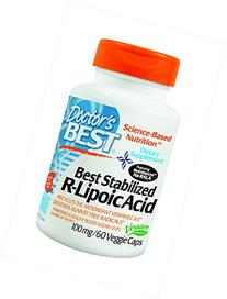 Best Stabilized R- Lipoic Acid 100 mg 60 VCaps Doctor's Best