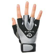 Bionic Women's StableGrip 1/2 Finger Fitness Gloves, Large,