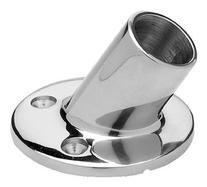 Seachoice Stainless 60 degree Round Rail Fitting