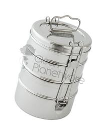Clean Planetware 4 Layer Stainless Steel Lunch Box