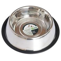 Iconic Pet 2-Cup Stainless Steel Non-Skid Pet Bowl for Dog