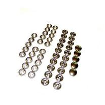 Stainless Steel Snap Fasteners, 25 Piece, Cap Socket Only,