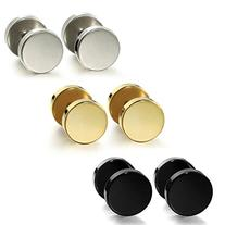 Jstyle Jewelry Stainless Steel Mens Womens Stud Earrings Ear
