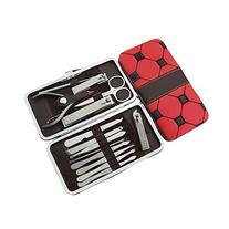 Lazyaunti 14pcs of Stainless Steel Vogue Personal Manicure