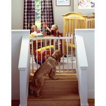 """Stairway Swing Gate 28"""" - 42"""" x 30"""