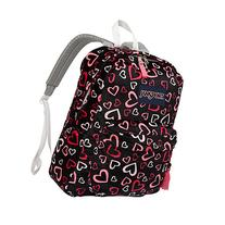 JanSport High Stakes Backpack Pink Tulip Lots of Love -