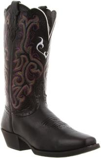"""Justin Boots Women's Stampede Collection 12"""" Boot Wide"""