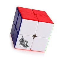 Free Stand Cyclone Boys Speed Cube 2x2x2 Stickerless Magic