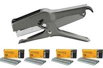 Stanley Bostitch B8 Heavy Duty Plier Stapler  with 4 Boxes