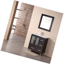 """Design Element Stanton 32"""" modern vanity w/ drop in"""