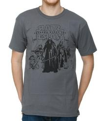 Star Wars 7 Logo Group Shot T-Shirt