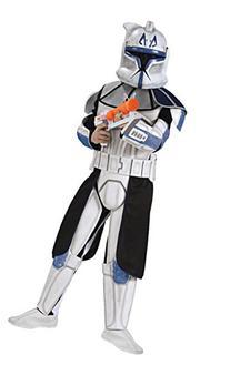 Star Wars Clone Wars Clone Trooper Child's Deluxe Captain