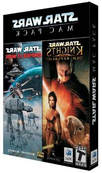 Star Wars Mac Pack: Knights of the Old Republic / Empire at