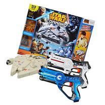 Star Wars Millennium falcon Toy Bundle with Laser Tag Pack
