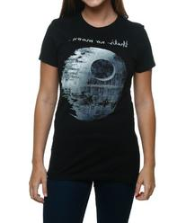 Womens Star Wars That's No Moon T-Shirt
