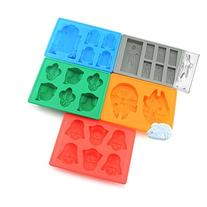 Set of 5 Star Wars Silicone Ice Trays / Chocolate Molds:
