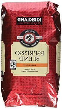 Kirkland Signature Starbucks Espresso Blend Dark Roast Whole