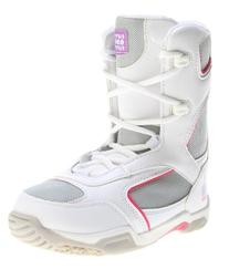 5150 Starlet Snowboard Boots White Youth Sz 5