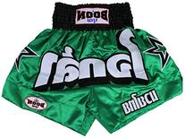 Boon Green Stars Muay Thai Shorts-XLarge