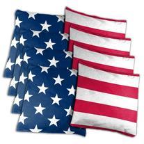 Wild Sports Stars and Stripes Cornhole Bean Bags