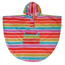 Wildkin Bright Stripes Stay Dry Poncho