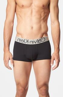 Men's Calvin Klein Steel U2716 Microfiber Low Rise Trunks,