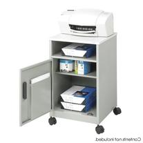 Safco? Steel Machine Stand with Open Storage Compartment