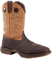 """Durango Men's 11"""" Steel Toe Waterproof Boots,Brown,12 M"""