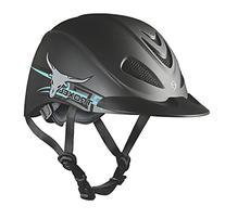 Troxel Steer Rebel Helmet, Electric Blue, Medium