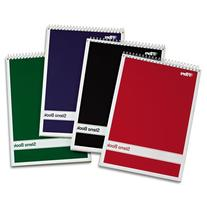 TOPS Steno Book with Assorted Colored Cover, 6 x 9, White