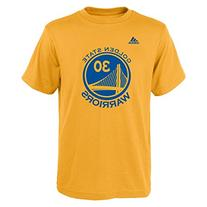 Adidas Golden State Player Shirt Stephen Curry Youth - Blue