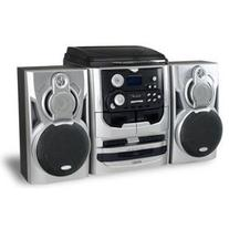 Jensen 3-Speed Stereo Turntable with 3 CD Changer and Dual