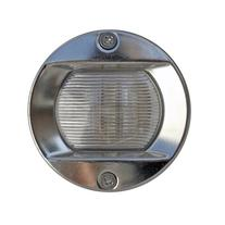 Led Round Stern White Transom Light for Boats - Stainless