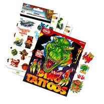 Jurassic World Stickers and Dinosaur Tattoos Party Favor