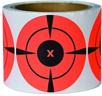 250 Mega-Pack 3-Inch Bullseye Target Stickers | Buy 1 Roll