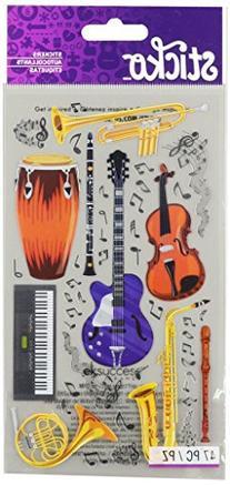 Sticko 58 Stickers-Instruments