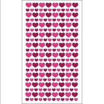 Sticko Paper & Glitter Valentine Stickers-Glitter Hearts