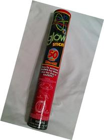 Supreme Glow Sticks 50 Pack 10 + Hours