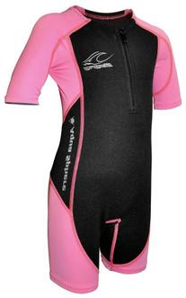 Stingray Core Warmer Wetsuit-Pink-4T