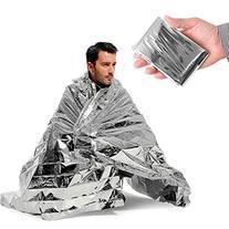 AOR POWER Silver Emergency Thermal Mylar Blanket
