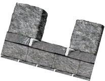 Stone Wall Border Party Accessory