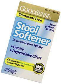 Good Sense Stool Softener Softgels 60 ea
