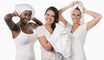 Ultimate T-shirt Hair Towel  Absorbent - Promotes Healthy