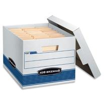 Bankers Box STOR/FILE Medium-Duty Storage Boxes, Quick Set-