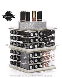 Zahra Beauty Store Spinning Lipstick Towers- Acrylic