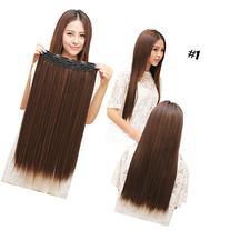 """Superex® Fashion straight 23"""" 3/4 full head Clip In Hair"""